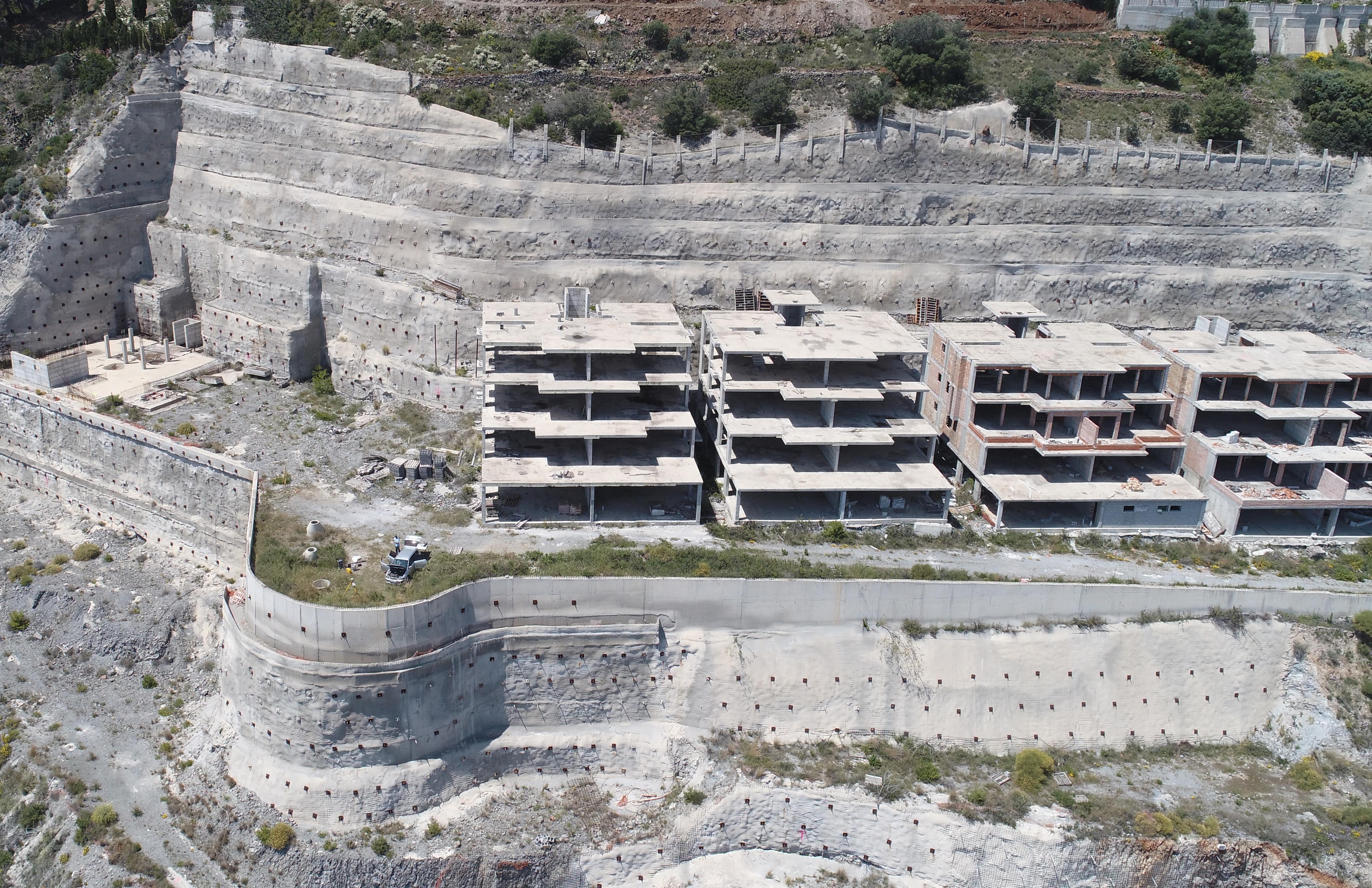 fotografías oblicuas con el dron fotogramétrico