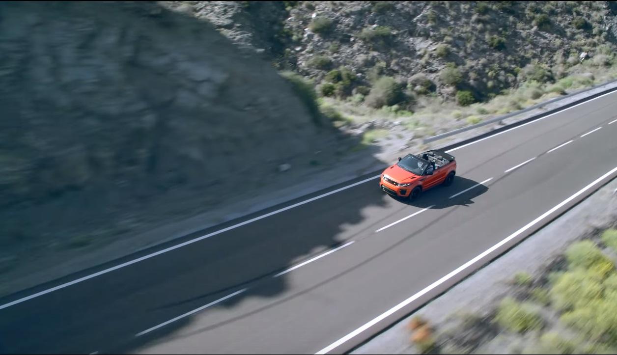 fotografía aérea con drones anuncio coche