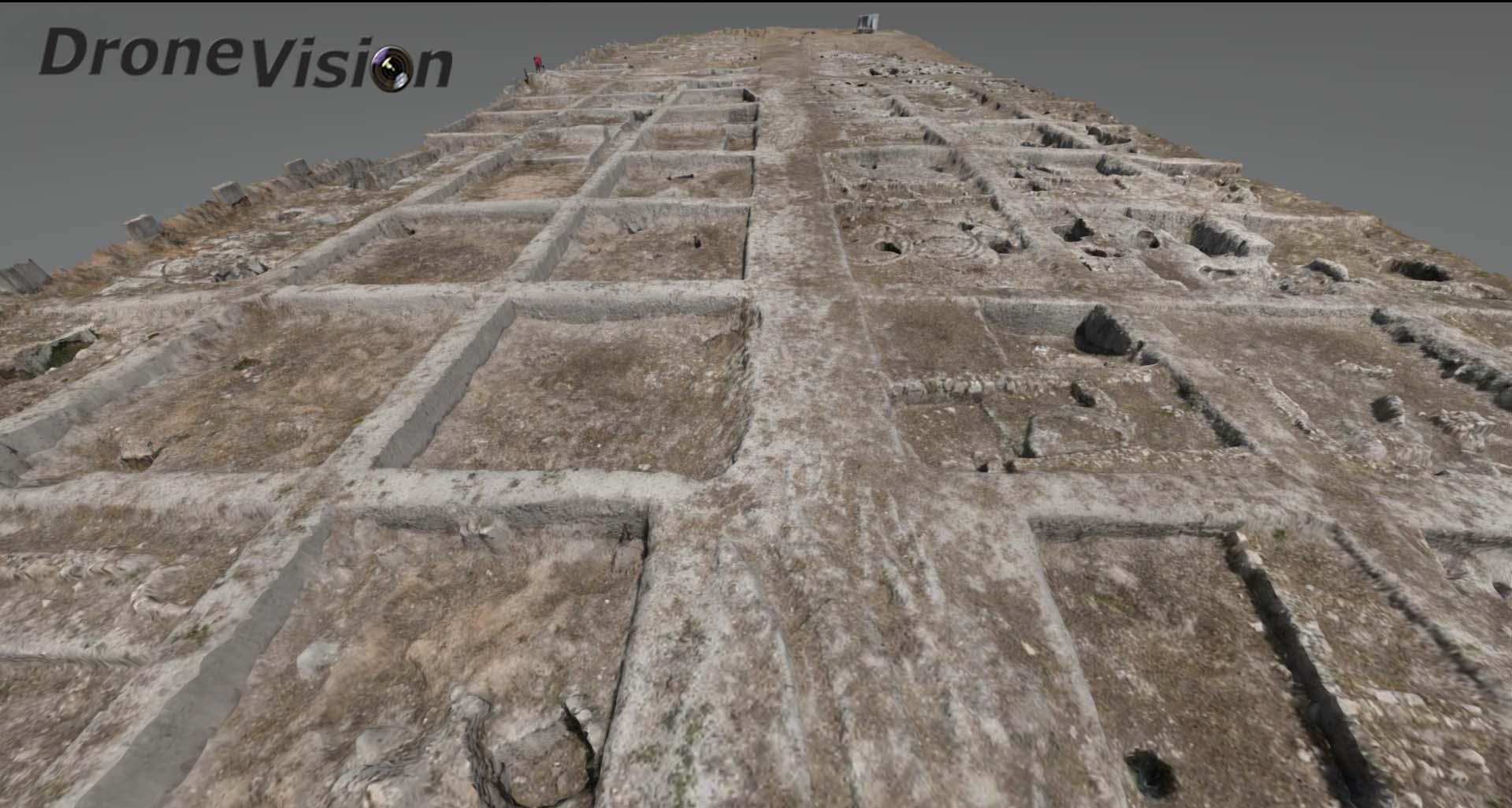 fotografía aérea con drones para Conservación de patrimonio histórico y arqueología