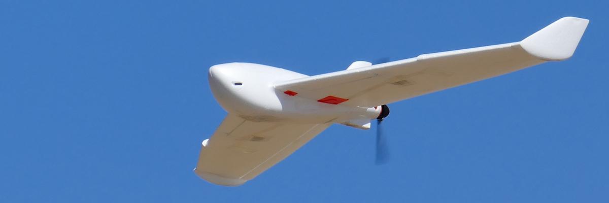 fotogrametría con drones de ala fija